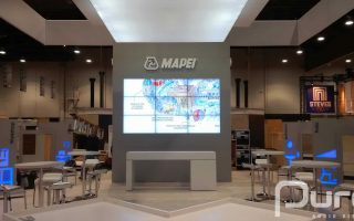 MAPEI Exhibit Booth Case Study